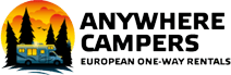 Aluguel de motorhomes com a Anywhere Campers - Auto Europe